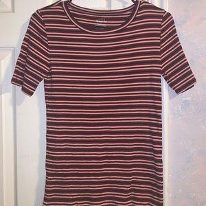 J Crew perfect fit striped shirt